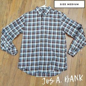 Jos A. Bank Traveler's Collection Button down Top